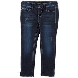 Vigoss Little Girls Sequin Unicorn Pocket Skinny Jeans