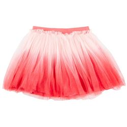 Flapdoodles Little Girls Ombre Mesh Tutu Skort