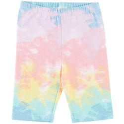 Kidtopia Little Girls Tie Dye Bermuda Shorts
