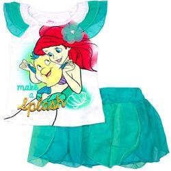 Disney Little Mermaid Little Girls Make A Splash Skirt Set