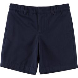 School Colors Little Girls St. Mary Twill Uniform Shorts