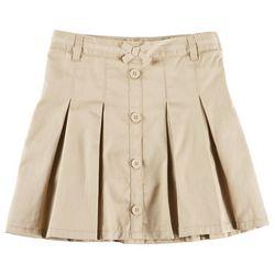 French Toast Little Girls Pleated Uniform Skort
