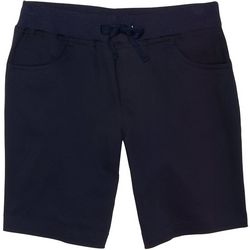 French Toast Big Girls Pull-On Tie Front Shorts