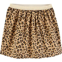 Carters Little Girls Leopard Print Skirt
