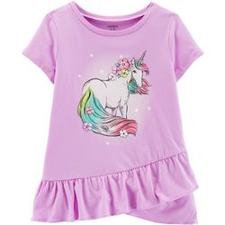 Carters Little Girls Magical Unicorn Top