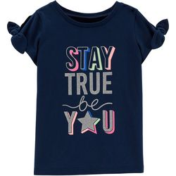 Carters Little Girls Stay True Be You Top