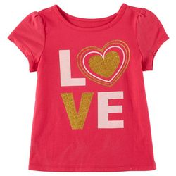 Kidtopia Toddler Girls Love T-Shirt