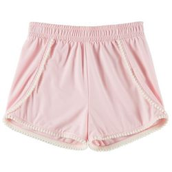 Kidtopia Toddler Girls Solid Yummy Shorts