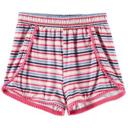 Kidtopia Toddler Girls Striped Yummy Shorts