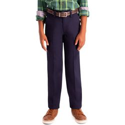 Haggar Big Boys Slim Fit Premium No Iron Pants