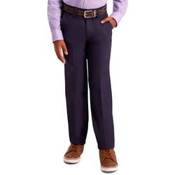 Haggar Big Boys Slim Fit Cool 18 Pro Pants