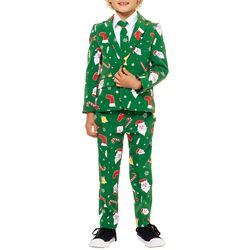 Opposuits Little Boys Santaboss 3-pc. Suit