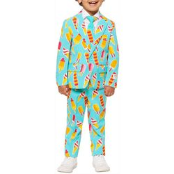 Opposuits Little Boys Cool Cones 3-pc. Suit