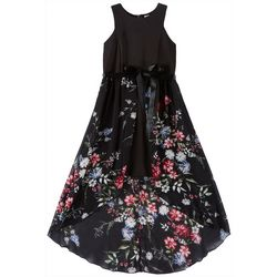 Emerald Sundae Big Girls Floral Walkthrough Dress
