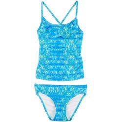 8c4c1b2f48652 Reel Legends Big Girls Sea Scales Tankini Swimsuit