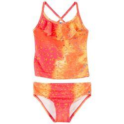Reel Legends Big Girls Warped Mahi Tankini Swimsuit