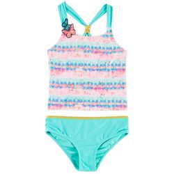 Limited Too Little Girls 2-pc. Butterfly Tankini Swimsuit