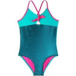 Limited Too Big Girls Mermaid Scales Swimsuit