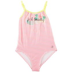 Body Glove Big Girls Just Beachy Stripe Swimsuit