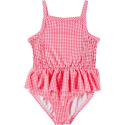 Penelope Mack Little Girls Gingham One Piece Swimsuit