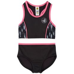 Body Glove Big Girls 2-pc. Solid Athletic Swimsuit