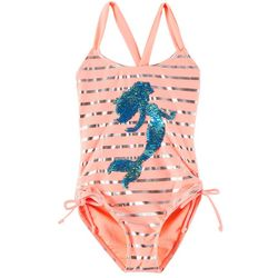 RMLA Little Girls Sequin Mermaid 1-pc. Swimsuit