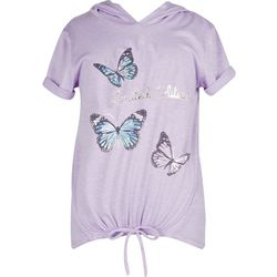 Speechless Big Girls Limited Edition Butterfly Hooded Top