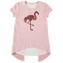 DJ & Juju Big Girls Flamingo T-Shirt