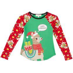 No Comment Big Girls Happy Llama-Days T-Shirt