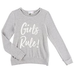 Freestyle Big Girls Girls Rule Sweater