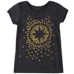 Marvel Captain Marvel Big Girls Star Logo Graphic T-Shirt