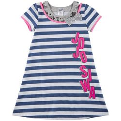 Nickelodeon JoJo Big Girls Stripe Print Dress
