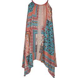 Bonnie Jean Big Girls Floral Patchwork Dress