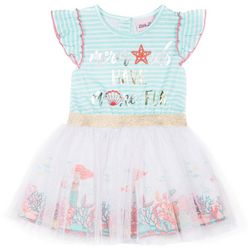 Little Lass Little Girls Mermaids Have More Fun Dress