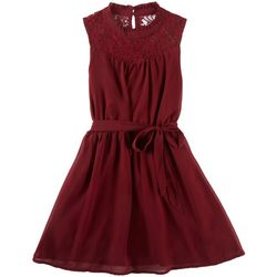 RMLA Big Girls Lace Victorian Sleeveless Dress