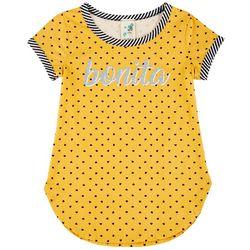 Lily Bleu Big Girls Short Sleeve Bonita Top