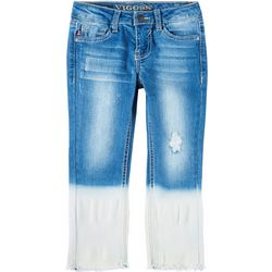 Vigoss Big Girls Dip Dye Ankle Jeans