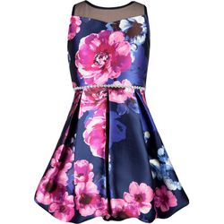Speechless Big Girls Illusion Bubble Dress