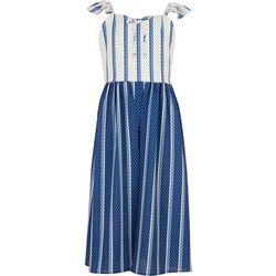Speechless Big Girls Stripe Walk Through Dress