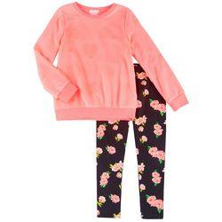 Forever Me Big Girls 2-pc. Heart Sweater & Leggings Set