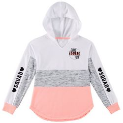 Miss Chievous Big Girls Girl Squad Colorblock Hoodie