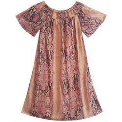 Daylight Big Girls Short Sleeve Poppy Dress