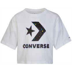 Converse Big Girls Paint Splatter Boxy Tee