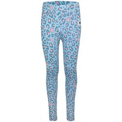 Converse Big Girls AOP Leopard Print Leggings