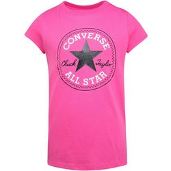 Converse Big Girls Chuck Patch Logo T-Shirt