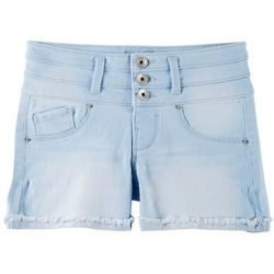 Squeeze Big Girls Stacked Waist Denim Shorts