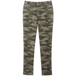 French Toast Big Girls Camo Print Jegging Pants