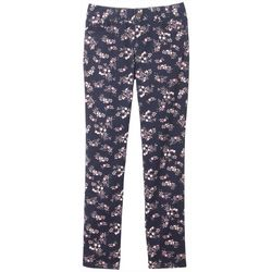 French Toast Big Girls Floral Print Jegging Pants