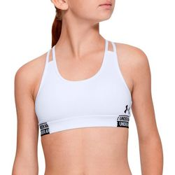 Under Armour Big Girls Solid Heat Gear Armour Sports Bra