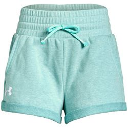 Under Armour Big Girls UA Rival Terry Track Shorts